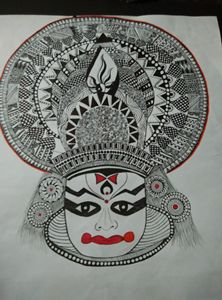 The Kathakali Dance!!