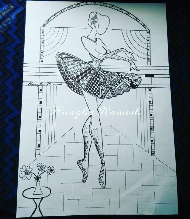 The perfect Ballet dancer - Anagha Ramesh