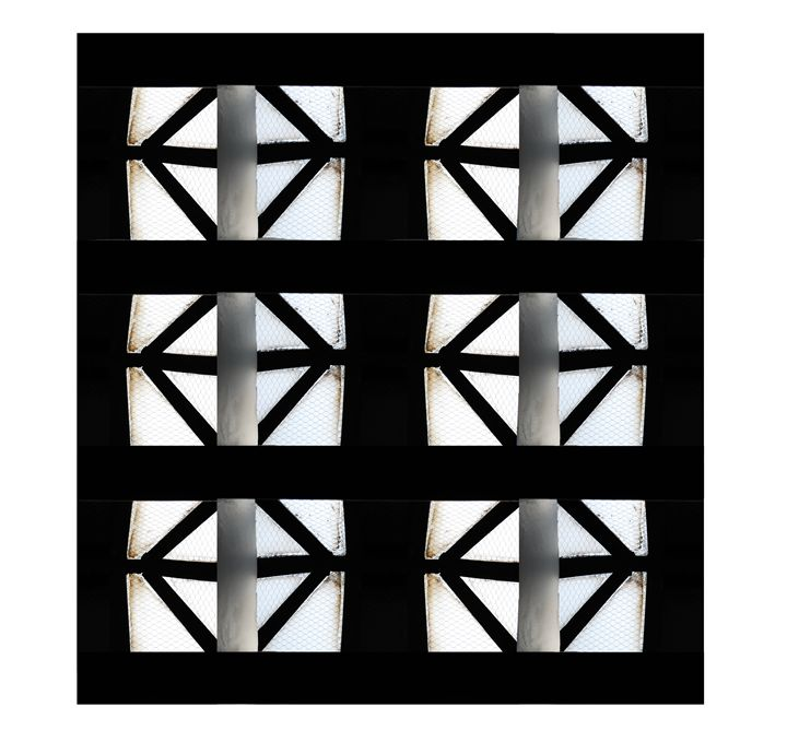 Skylight Series - Grey Calming Panel - The Artwork of Candice Zepeda