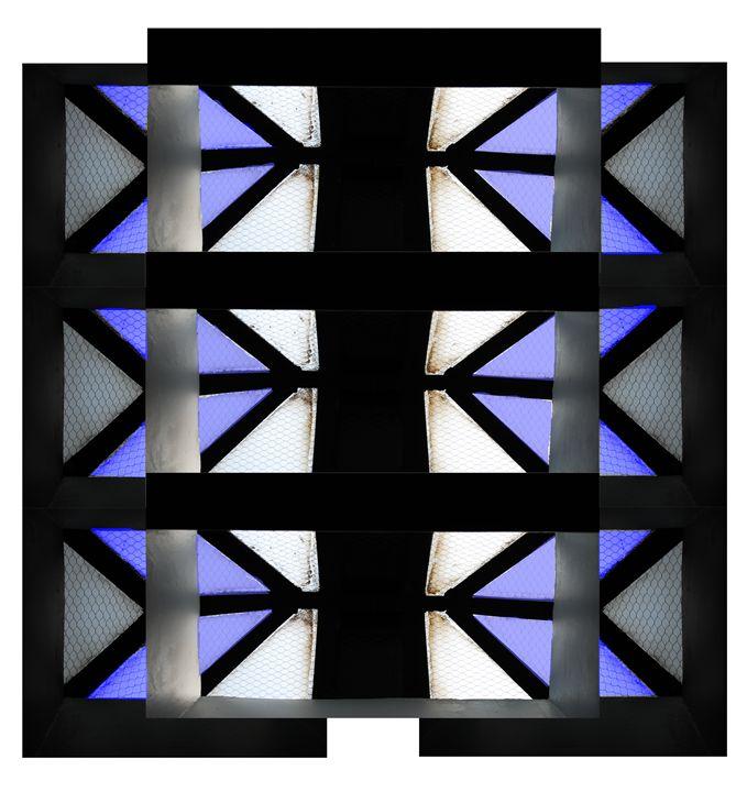 Skylight Series - Blue Empowerment P - The Artwork of Candice Zepeda
