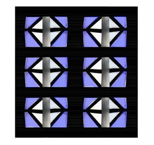 Skylight Series - Blue Calming Panel