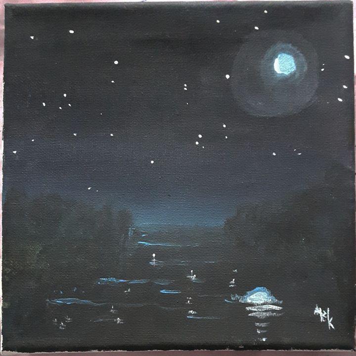 Nighttime River - Black Jack/ Heather Kenyon