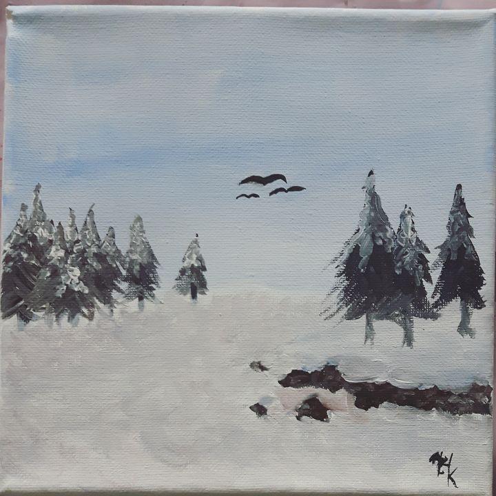Snowy meadow - Black Jack/ Heather Kenyon