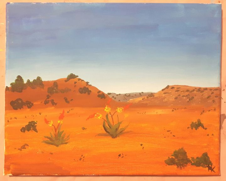 South African Landscape - Black Jack/ Heather Kenyon