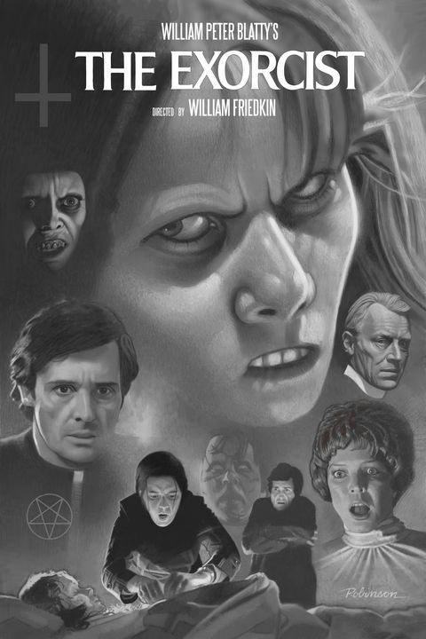 The Exorcist (1974) - Dave Robinson's Art Gallery