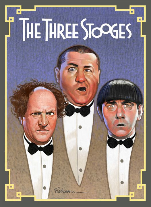 The Three Stooges - Dave Robinson's Art Gallery