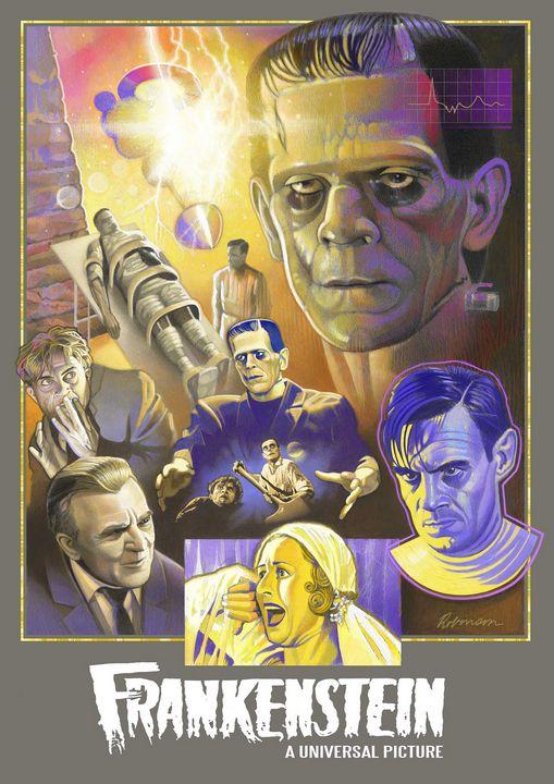 Frankenstein (1931) - Dave Robinson's Art Gallery