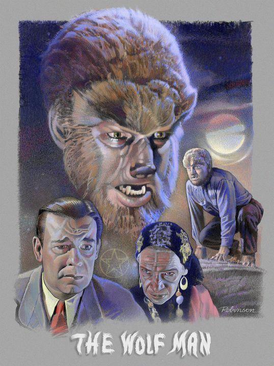 The Wolf Man (1940) - Dave Robinson's Art Gallery