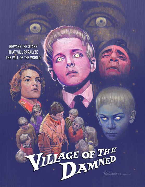 Village of the Damned (1960) - Dave Robinson's Art Gallery