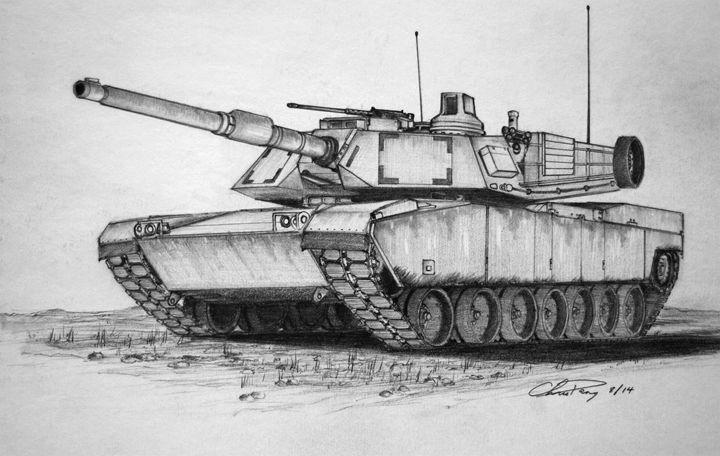 M-1 Abrams - Chris H. Dang