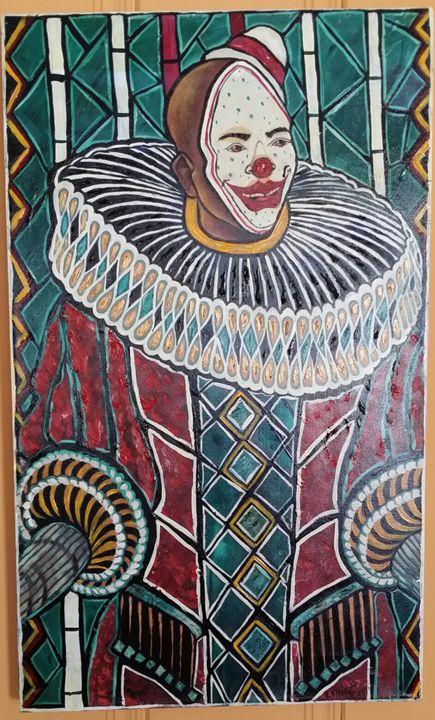 Homie The Clown - Art by L.Mason
