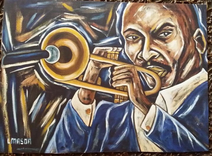 Jazz Man - Art by L.Mason