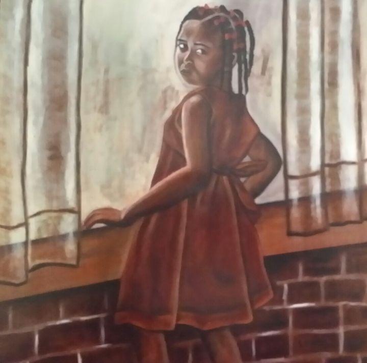 Little Girl - Art by L.Mason