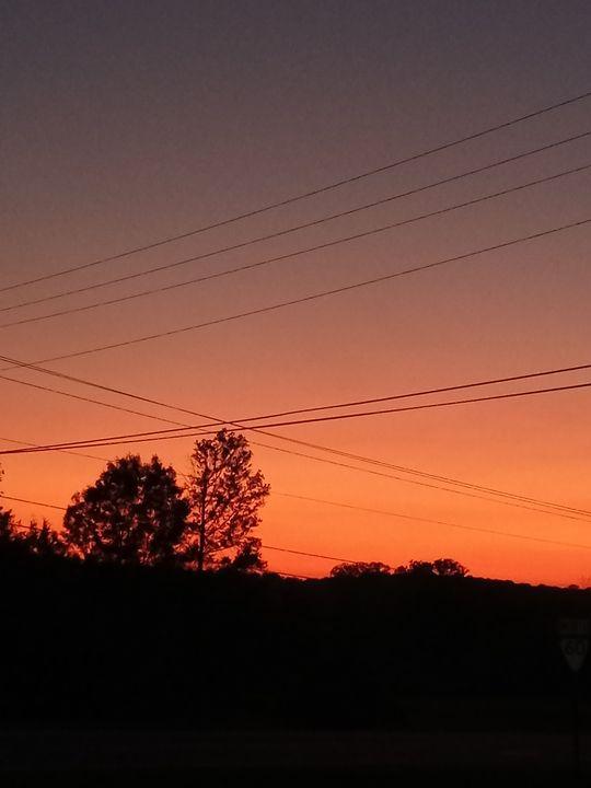 Sunset Ridge - Shannon's Art