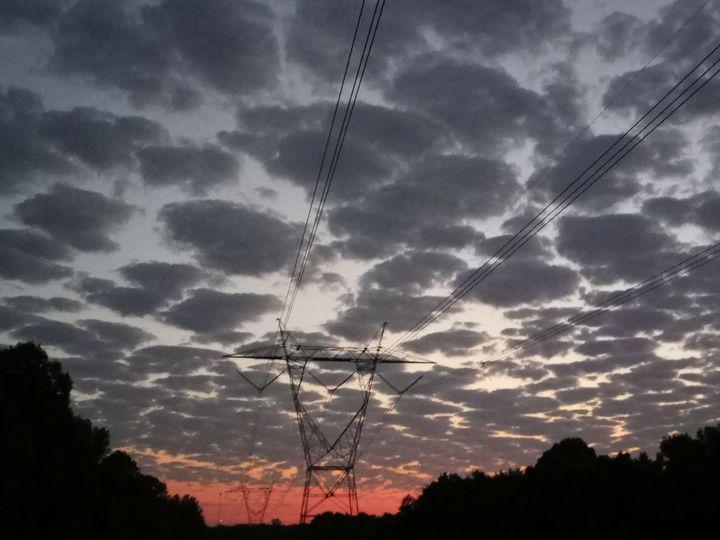 Industrial Sunrise - Shannon's Art