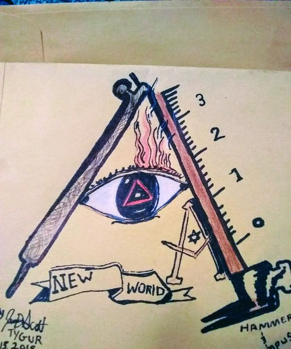 The hammer and compass - Tygur 1 vision's of masters