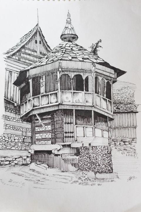 Kinnaur temple - Bhushi