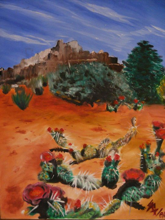 Cactus - Paintings by Sara