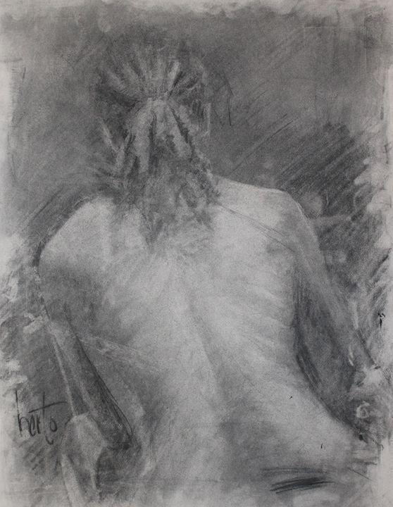 charcoal back - Berto Ortega