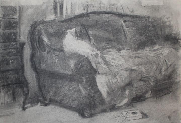 favorite couch - Berto Ortega