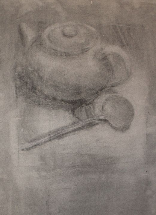 Charcoal tea - Berto Ortega