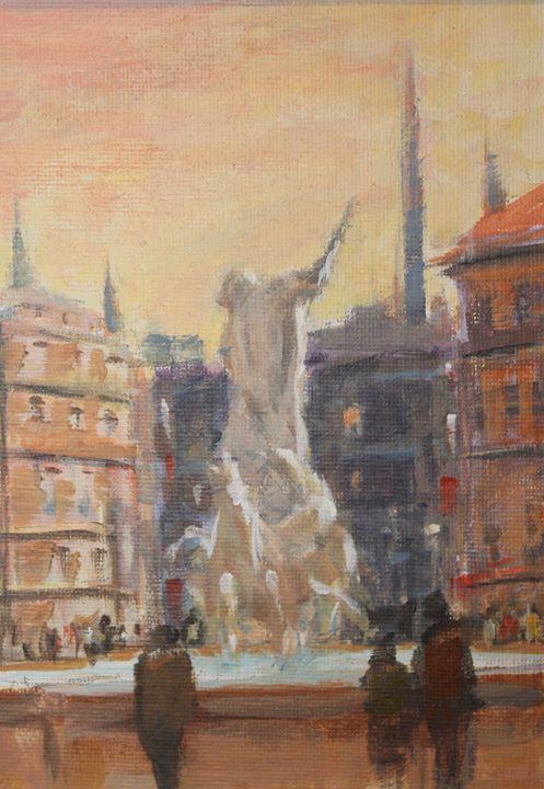 Venice plaza - Berto Ortega