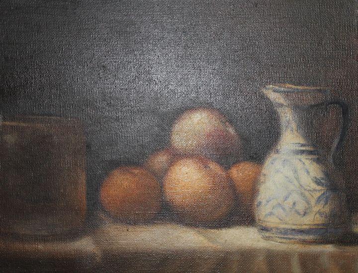 Fruit and Picher - Berto Ortega