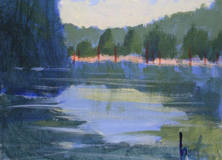 Blue lagoon - Berto Ortega