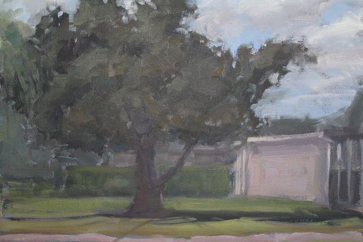 Florida Back Yard - Berto Ortega