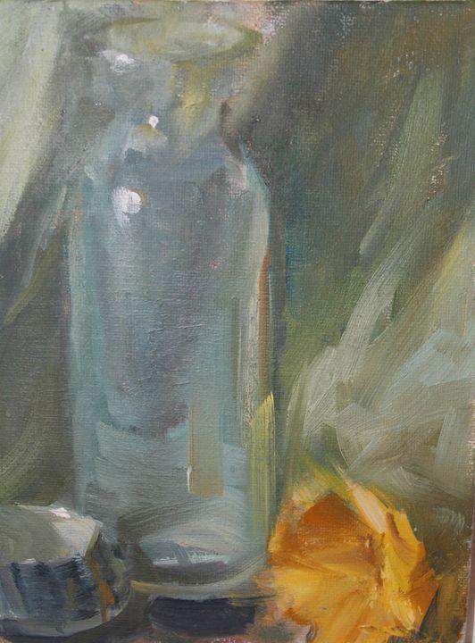 Glass and Rose - Berto Ortega