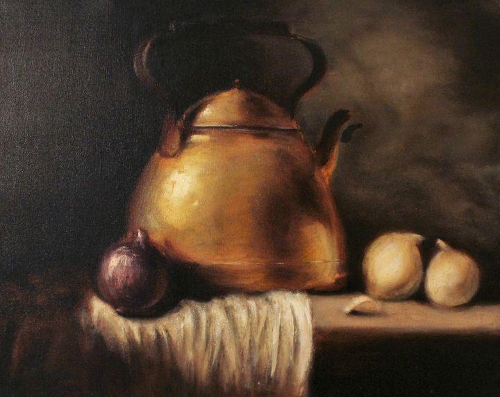 Copper Teapot still - Berto Ortega