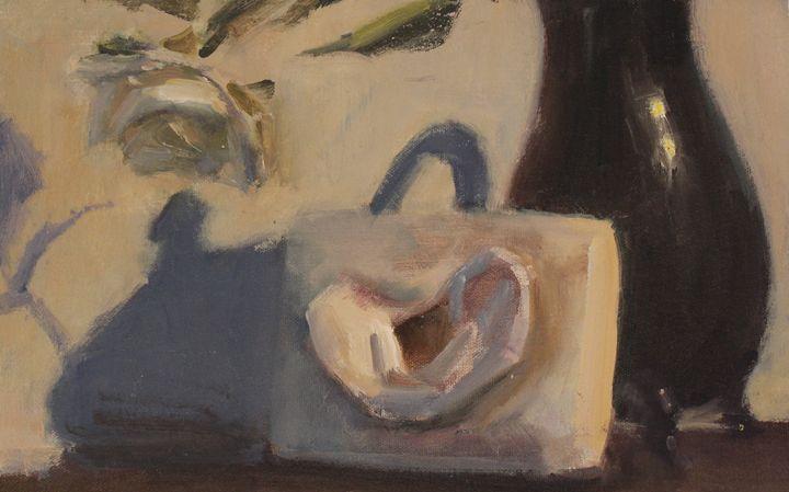 Rose and vase - Berto Ortega