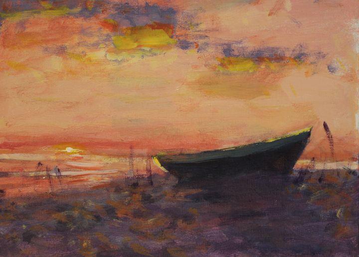 Evening Shore - Berto Ortega