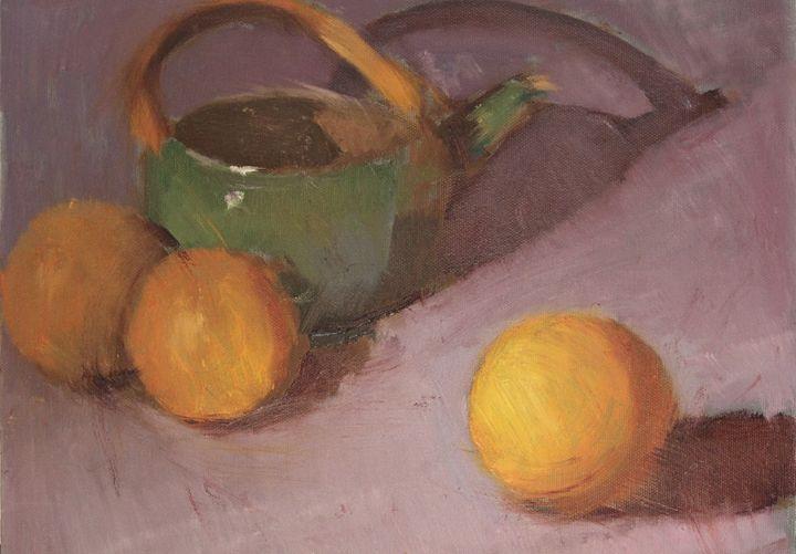 Oranges and Tea - Berto Ortega
