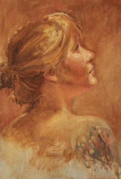 Model Female glance - Berto Ortega