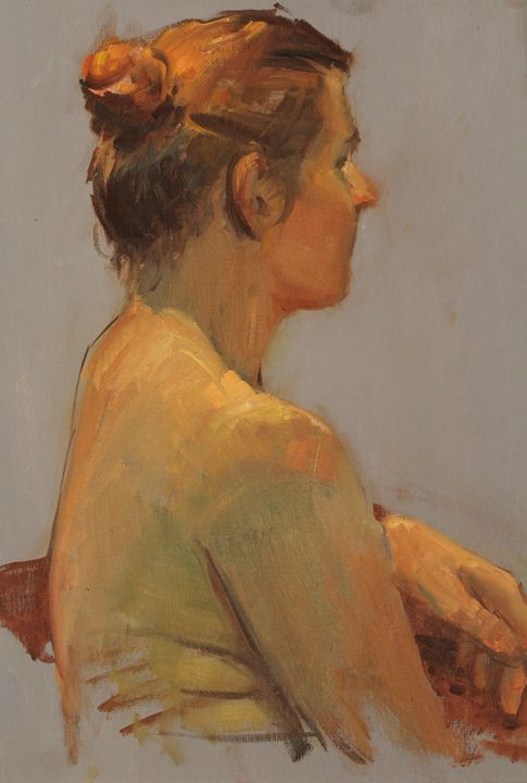Female subject - Berto Ortega