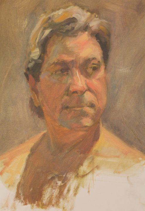Male model bust - Berto Ortega
