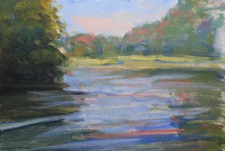Pond view - Berto Ortega