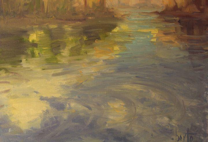 Flowing river - Berto Ortega