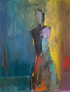 Lone figure
