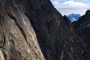 Climbers in Washington Pass