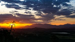 Sunrise over Southeast Utah