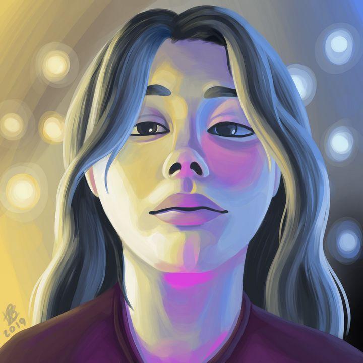 Colourful Portrait - Karin Berendsen