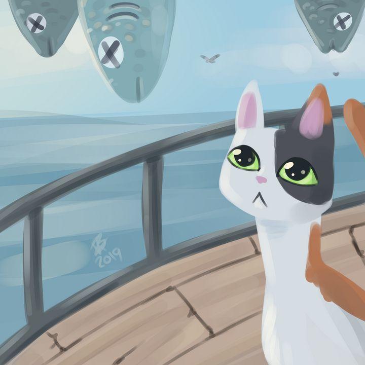 Fisherboat Cat - Karin Berendsen