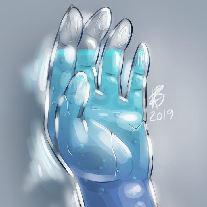 Glass Hand - Karin Berendsen