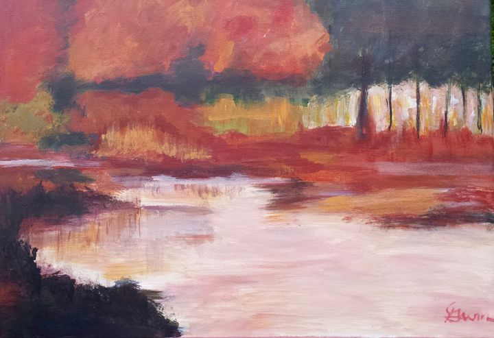 Serenity in the Fall - Still Waters Arts