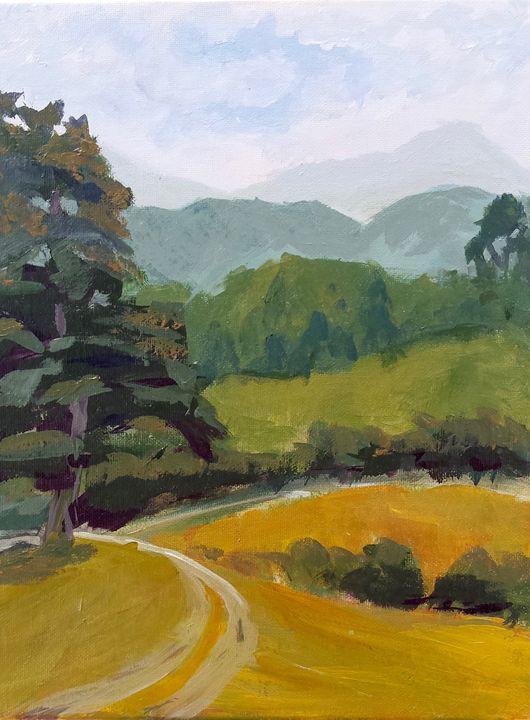 Plein air in the Blue Ridge Mountain - Still Waters Arts