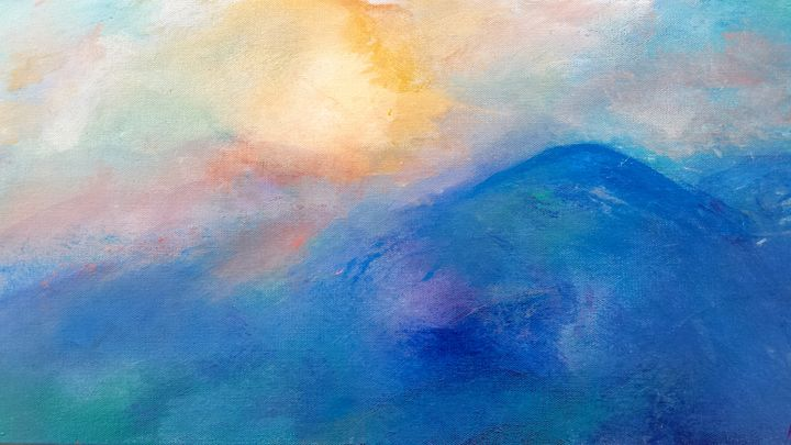 Blue Ridge Morning - Still Waters Arts