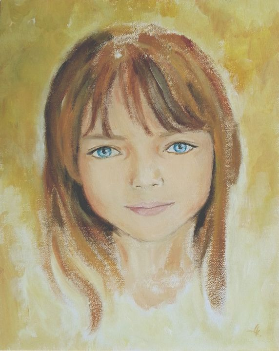 """""""Elle"""" - Paintings by Linda Knotter"""