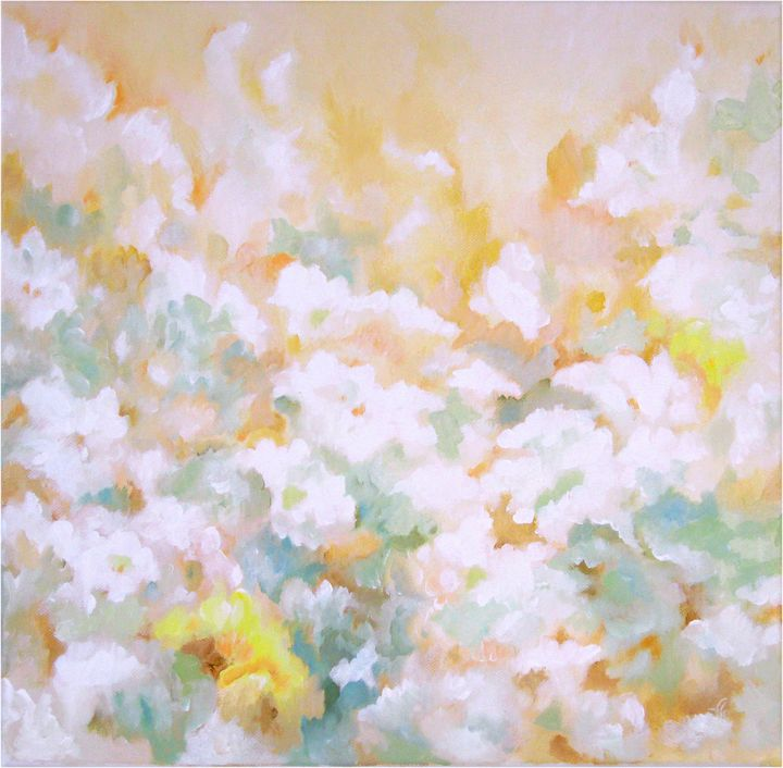 Wild jasmine - Paintings by Linda Knotter